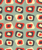 Modern colored curved rectangle pattern - tileable Stock Photos