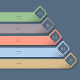 Modern colored Design template Royalty Free Stock Photos