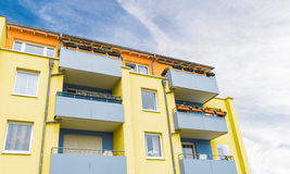 Modern colored Facade Stock Image