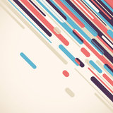 Modern colorful abstract composition. stock illustration