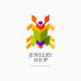 Modern colorful abstract  logo or element design. Best for identity and logotypes Royalty Free Stock Image