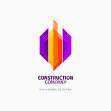 Modern colorful abstract  logo or element design. Best for identity and logotypes. Stock Images