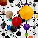 Modern colorful background Stock Image
