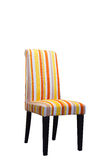 Modern colorful chairs on white  background Royalty Free Stock Images