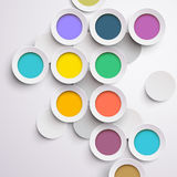 Modern colorful design Royalty Free Stock Photography
