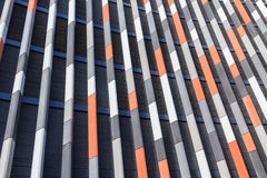 Modern colorful facade Stock Photos