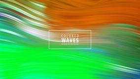Modern colorful flow poster. Wave Liquid shape in blue color background. Art design. Vector illustration. vector illustration