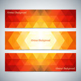 Modern Colorful Set Of Vector Banners For Your Design Royalty Free Stock Photography