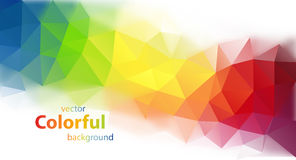 Modern colorful vector background Royalty Free Stock Photo