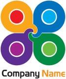Modern colourful logo Royalty Free Stock Photos