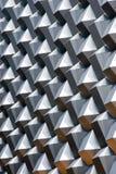 Modern comb-like facade Stock Photo