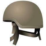 Modern combat helmets Royalty Free Stock Photo