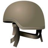 Modern combat helmets Royalty Free Stock Photo
