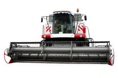 Modern combine. Separately on a white background Stock Image