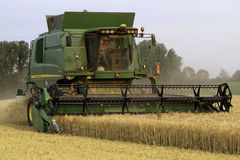 Modern Combine Harvester Stock Photos