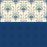 Modern combined pattern graphic ornament background Royalty Free Stock Photography