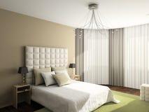 Modern comfortabel binnenland royalty-vrije stock foto's