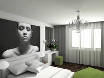 Modern comfortabel binnenland Stock Foto's