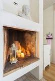 Modern comfortabel binnenland royalty-vrije stock afbeeldingen