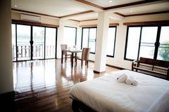 Modern comfortable hotel room. Royalty Free Stock Photos