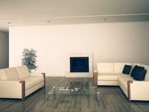 Modern comfortable interior Stock Image