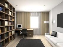 Modern comfortable interior Stock Photos