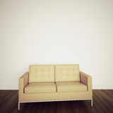 Modern comfortable interior with 3d rendering Royalty Free Stock Photos