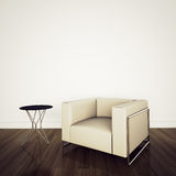 Modern comfortable interior with 3d rendering Royalty Free Stock Photography