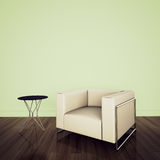 Modern comfortable interior with 3d rendering Stock Images