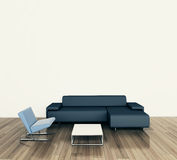 Modern comfortable interior with 3d rendering. Modern comfortable interior, 3d image Royalty Free Stock Image