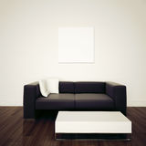 Modern Comfortable Interior With 3d Rendering Stock Photos