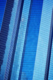 Modern commercial architecture over blue sky Royalty Free Stock Images