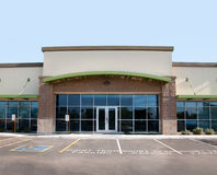 Modern commercial building Royalty Free Stock Photos