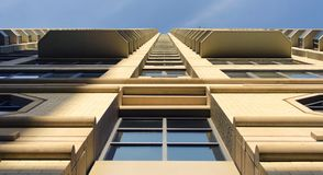 Modern commercial building Stock Image