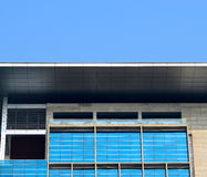Modern architecture building. Beautiful sky view modern commercial building photograph captured from a city area in Bangladesh royalty free stock image