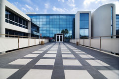 Modern commercial building facility Royalty Free Stock Image