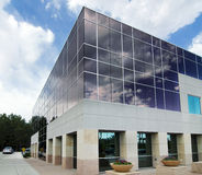 Modern commercial building facility Royalty Free Stock Photography