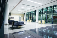 Modern  commercial building. Interior of modern commercial building Stock Photography