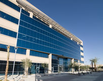 Modern commercial facility. New multi level Modern commercial facility royalty free stock photos