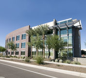 Modern commercial facility Stock Image