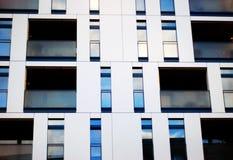 Modern Commercieel Blok Royalty-vrije Stock Foto's