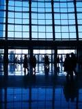 Modern Commercieel centrum Royalty-vrije Stock Afbeeldingen