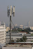 Modern communication antenna Royalty Free Stock Photo