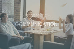 Modern communication concept Royalty Free Stock Image