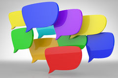Modern communication concept Stock Images