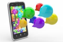Modern communication concept Stock Image