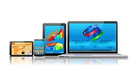 Modern Communication Equipment. Stock Image