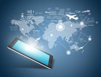 Modern communication technology Stock Images