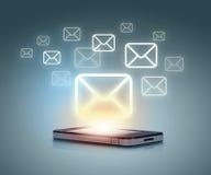 Modern communication technology Stock Photo