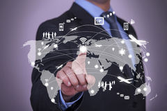 Modern Communication Technology Royalty Free Stock Images